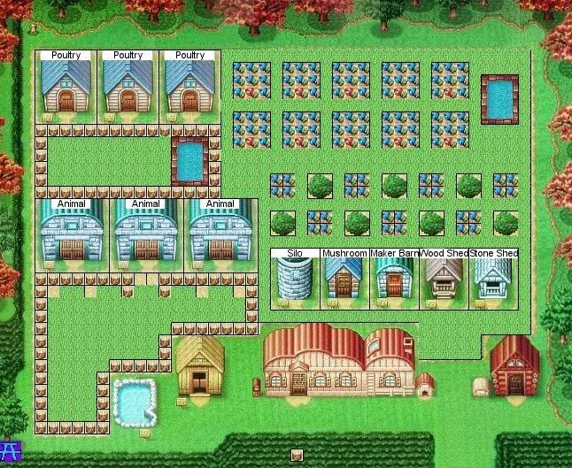 HM DS farm | All things Harvest Moon Video Game | Harvest