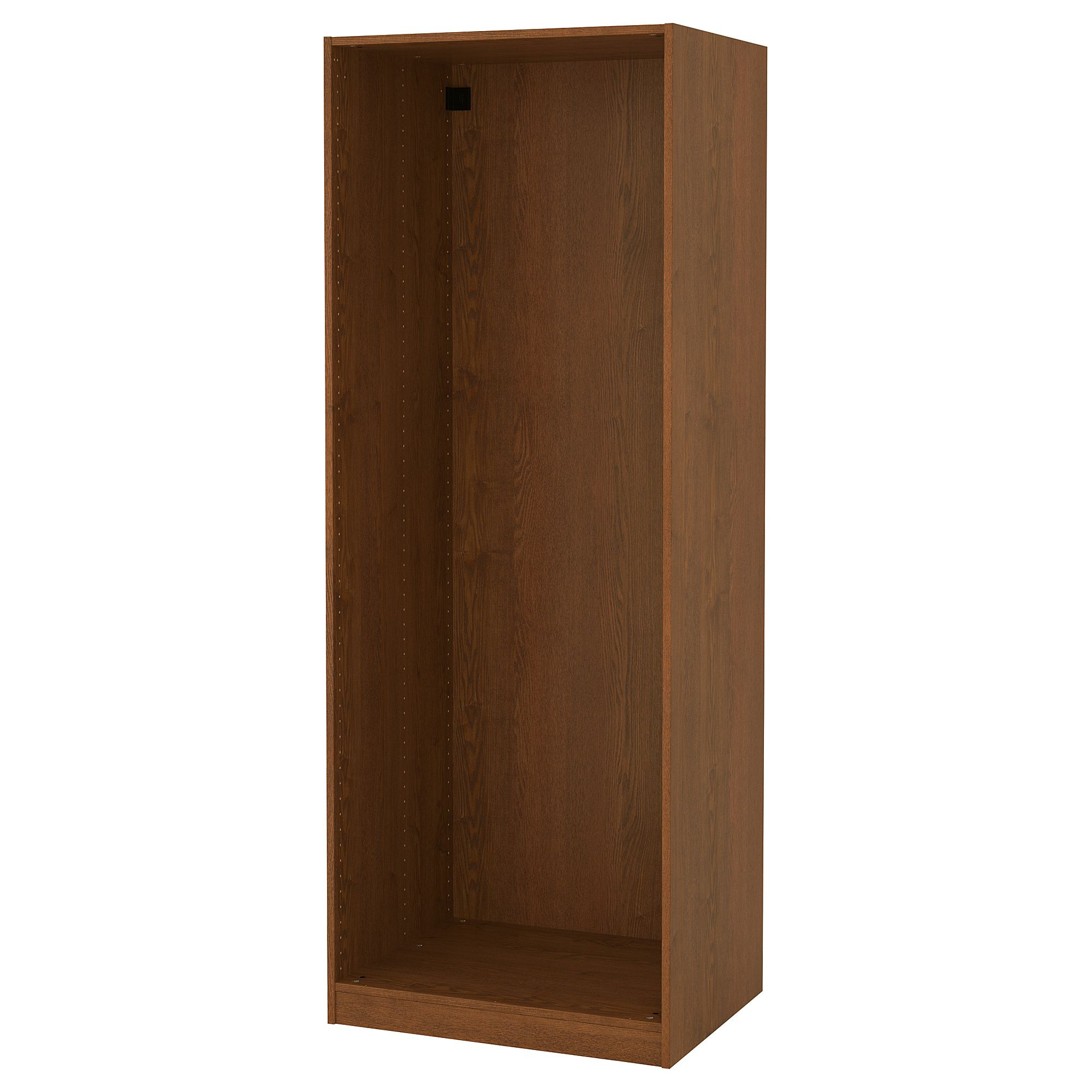 Pax Wardrobe Frame Brown Stained Ash Effect 29 1 2x22 7 8x79 1 8