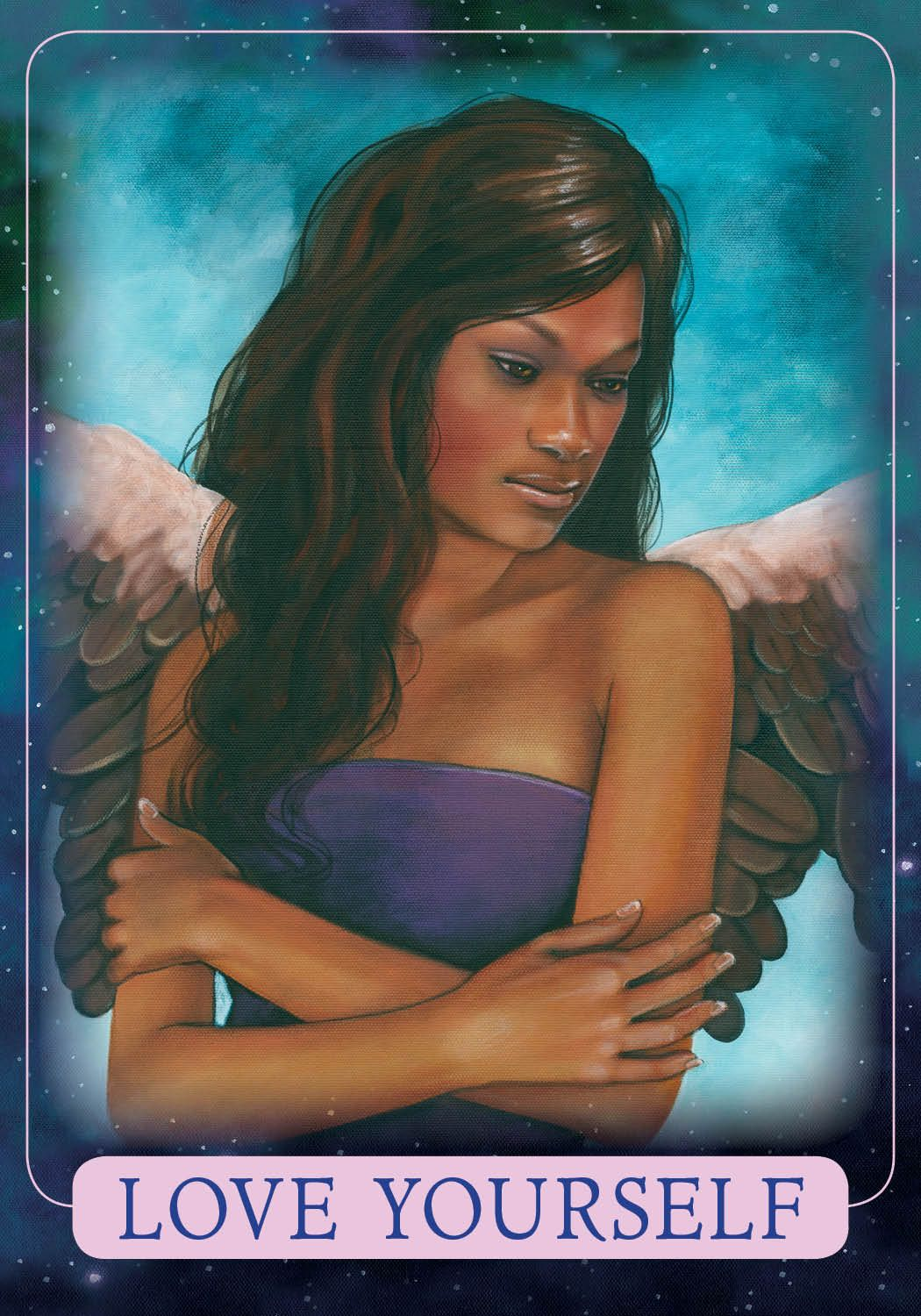 Oracle Card Love Yourself Doreen Virtue Official Angel Therapy Website Angel Oracle Cards Angel Angel Tarot