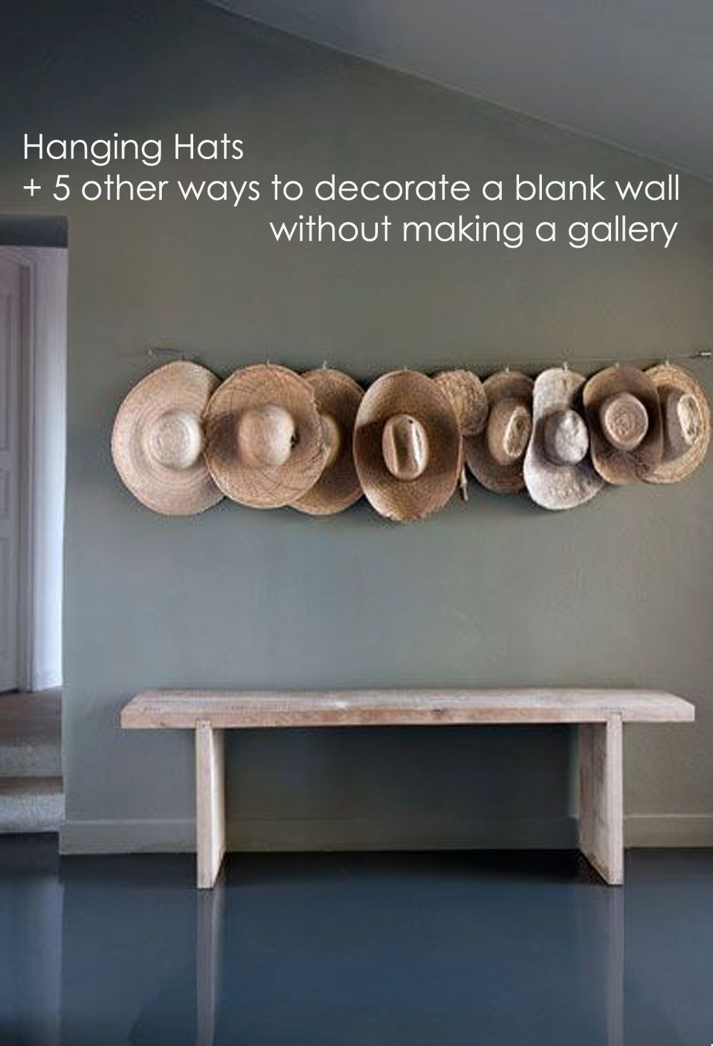 6 creative ideas to decorate your blank wall budget for Idee per appendere foto
