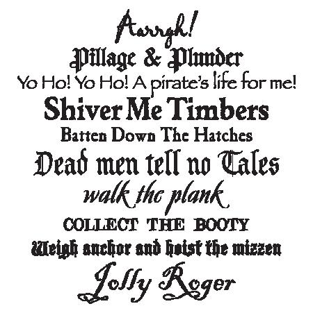 Pirate Font Teach Like A Pirate Pinterest Pirate Font