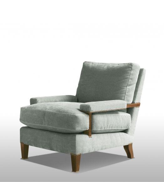 Living Room   Preston Chair (COM)  Roman Thomas