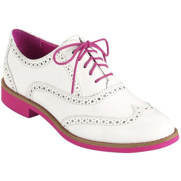 Cole Haan Women's Shoes, Allisa Oxfords found on Polyvore