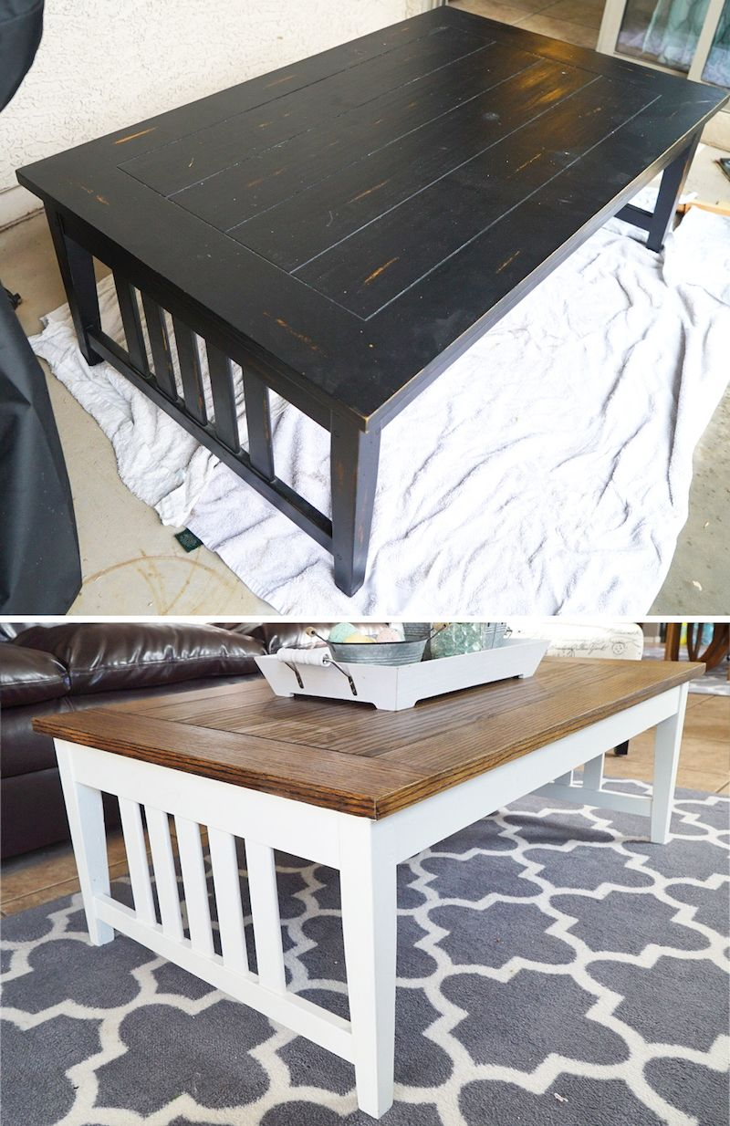 Refinishing Wood Furniture With Stain And Chalk Paint Diy Project Easy White Dove Benjamin Moore Annie Sloan Wax Waxing
