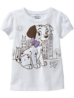 Disney C 101 Dalmatians Tees For Baby Old Navy Disney Baby Clothes Kids Clothes Sale Cute Outfits For Kids