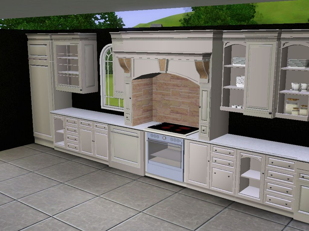 Nice kitchen   The Sims 3  Sims 3 mods Sims 4 kitchen