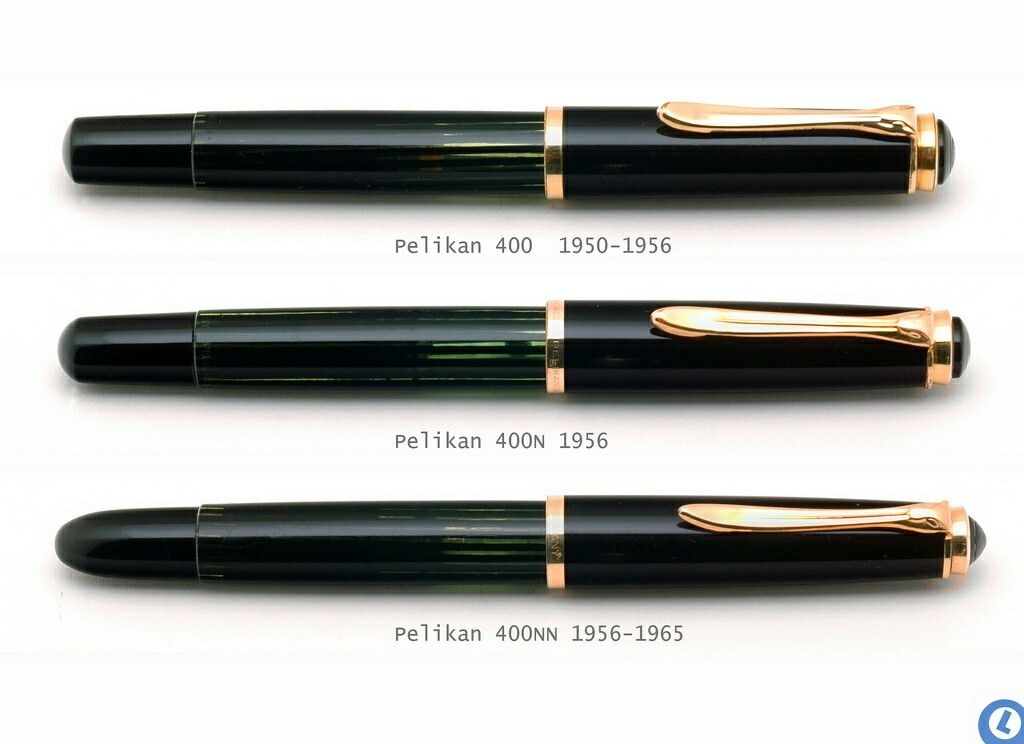 Pelikan 400 400n 400nn Schwarz F Llfeder