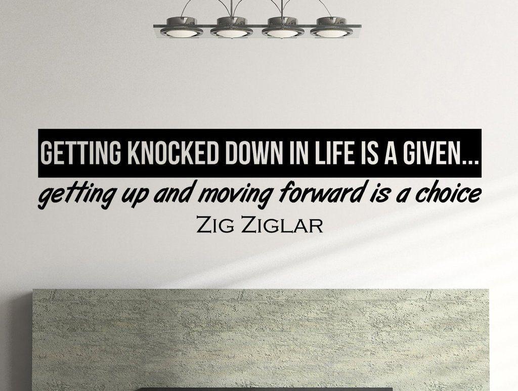 Quotes Zig Ziglar Zig Ziglar Quote Inspiring Wall Decal Quote  Zig Ziglar Move
