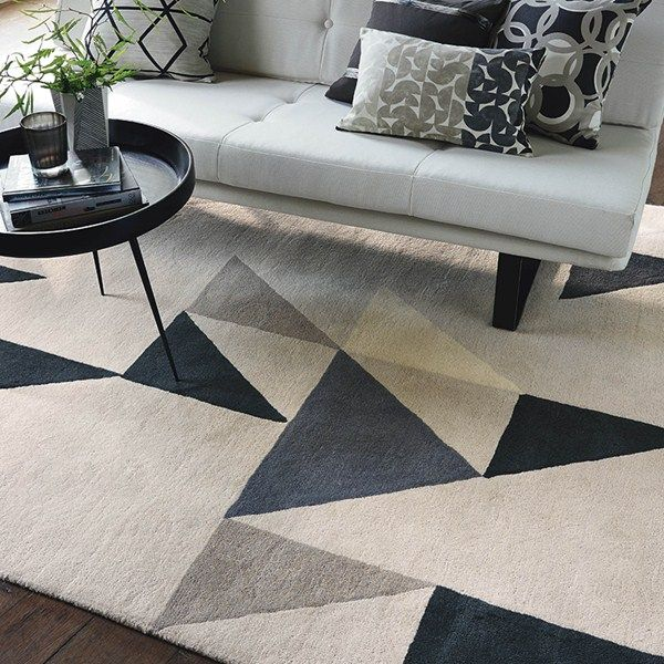 Modul Rugs 26704 In Charcoal By Scion Free Uk Delivery The Rug Er