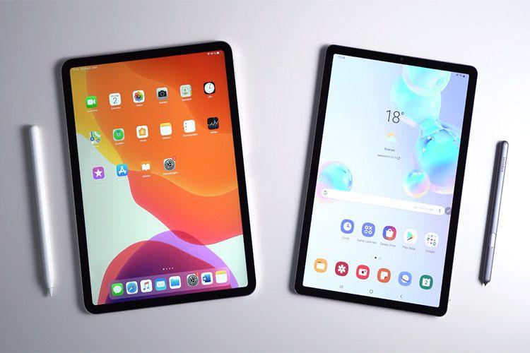 Samsung Galaxt Tab S6 And Apple Ipad Pro Comparison Thumbnail In 2021 Apple Ipad Pro Apple Ipad Ipad Pro