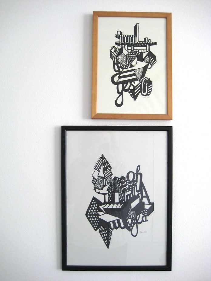 Kristina Dam is a graphic designer from the Royal Danish Academy of Architecture in 2007.
