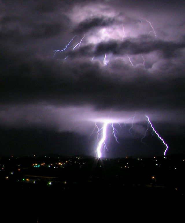 Storm over Tropical Queensland, Australia. From Reddit