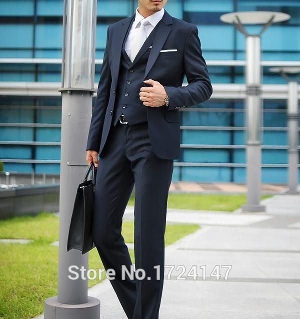 >> Click to Buy << Smoking 2017 New Arrival Three Pieces Man Suits Groom Tuxedos Best Suit Wedding Groomsman Men Bridegroom Formal Business Sui  #Affiliate