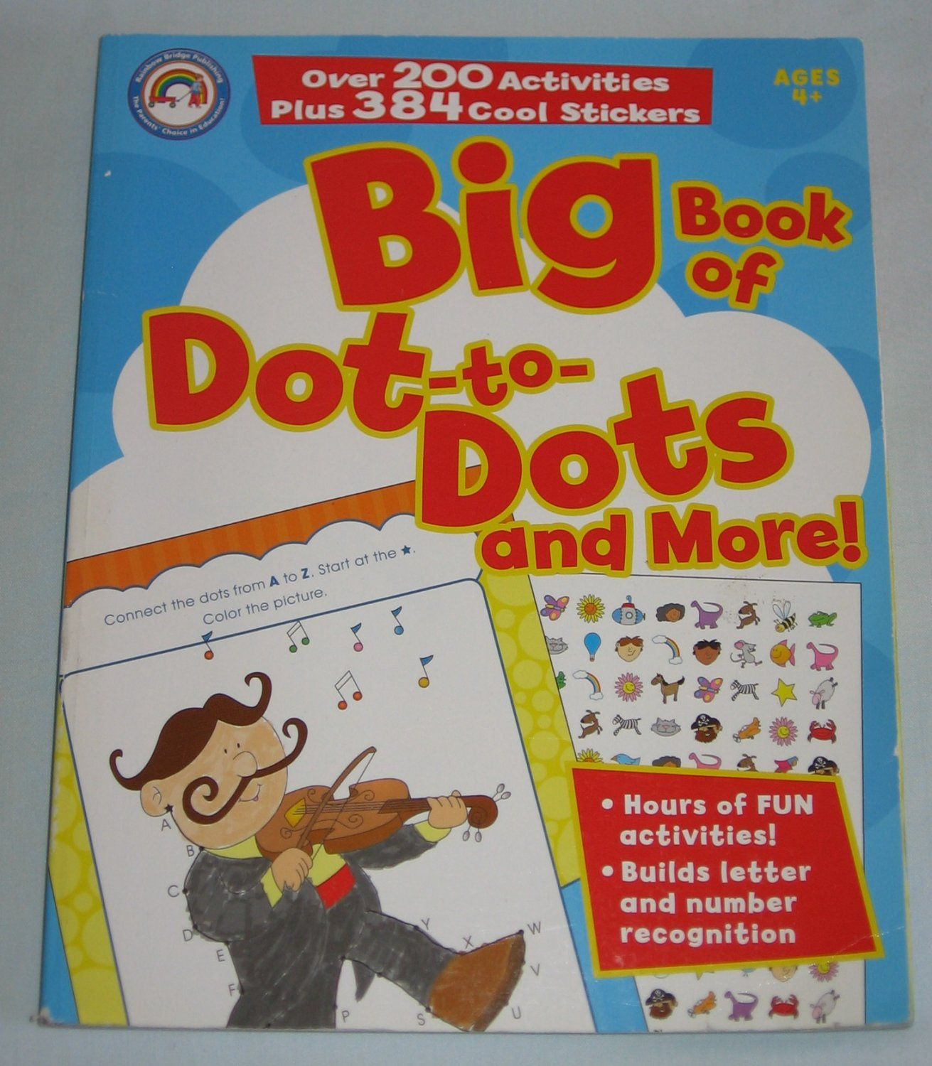 For Sale Big Book Of Dot To Dots And More By Rainbow