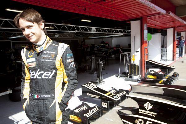 Esteban Gutierrez tops GP2 test in Barcelona