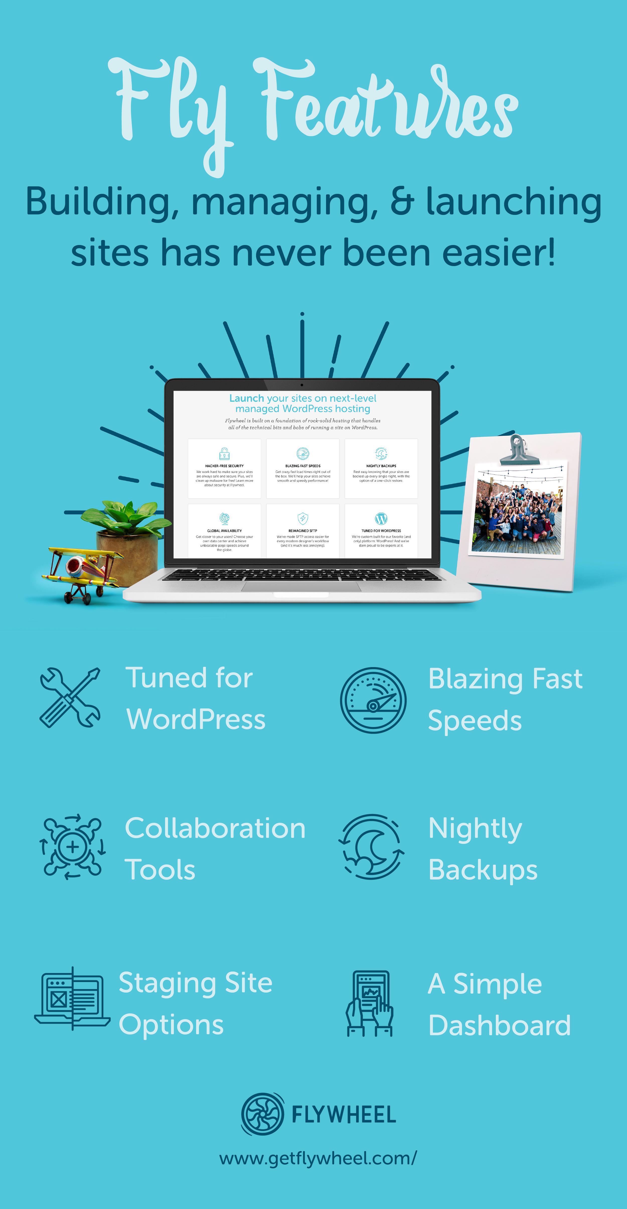 Build, Launch, Manage, Scale! Flywheel's delightful platform offers