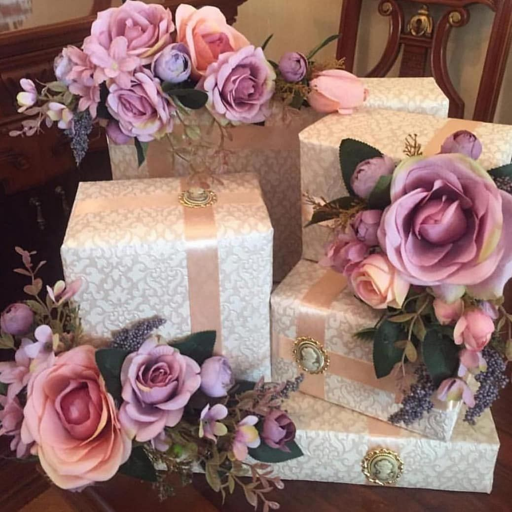 Pin Na Doske Wedding Gift Wrapping