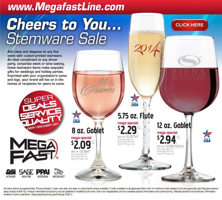 Cheers to You...Stemware Sale | Stemware, Wine tasting ...