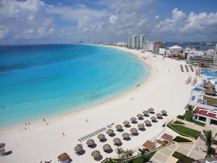 Long Beach Cancun Mexico City Beaches In The World
