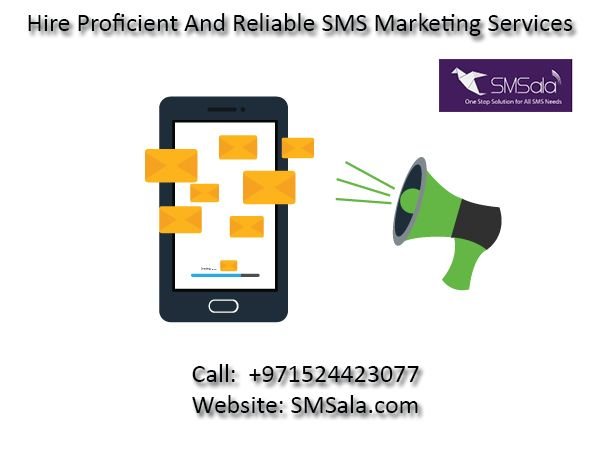 To alert clients about your merchandise/services/gives/discounts through  SMS - hire SMSala for global bulk SMS advertising and marketing offerings.