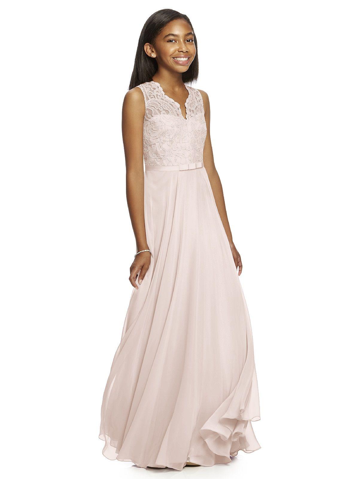 Dessy Collection Junior Bridesmaid JR532   Hauff