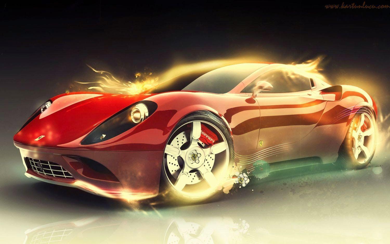 Foto Wallpaper Mobil Ferrari Modifikasi Mobil
