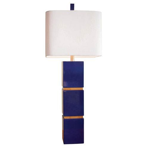 Blue table lamps bellacor