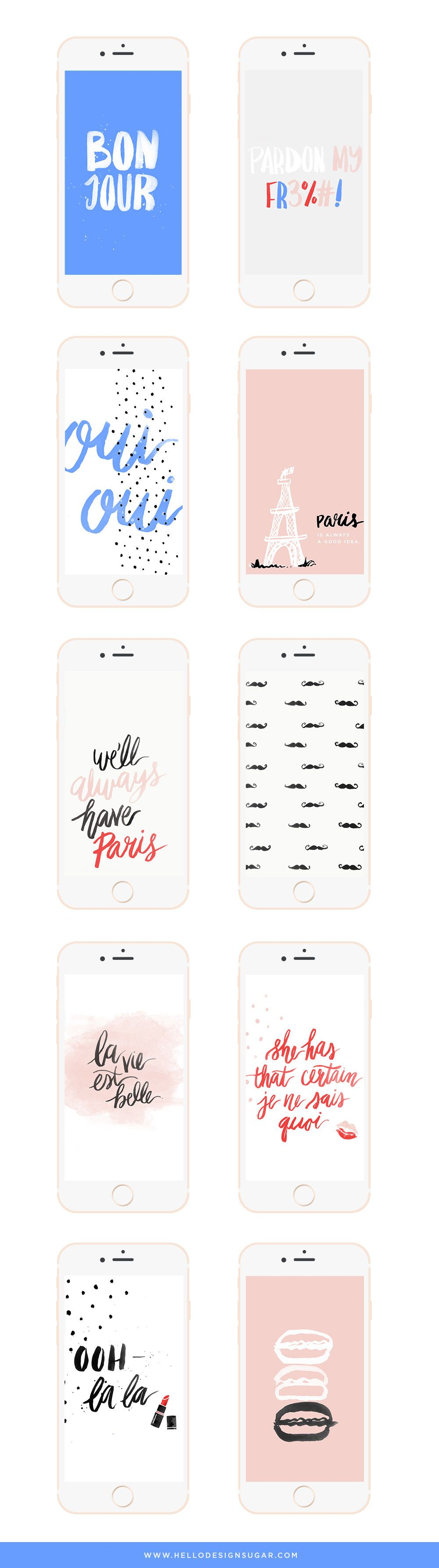 Fr fr free january 2017 desktop wallpaper - Paris Themed Wallpapers For Your Phone And Desktop