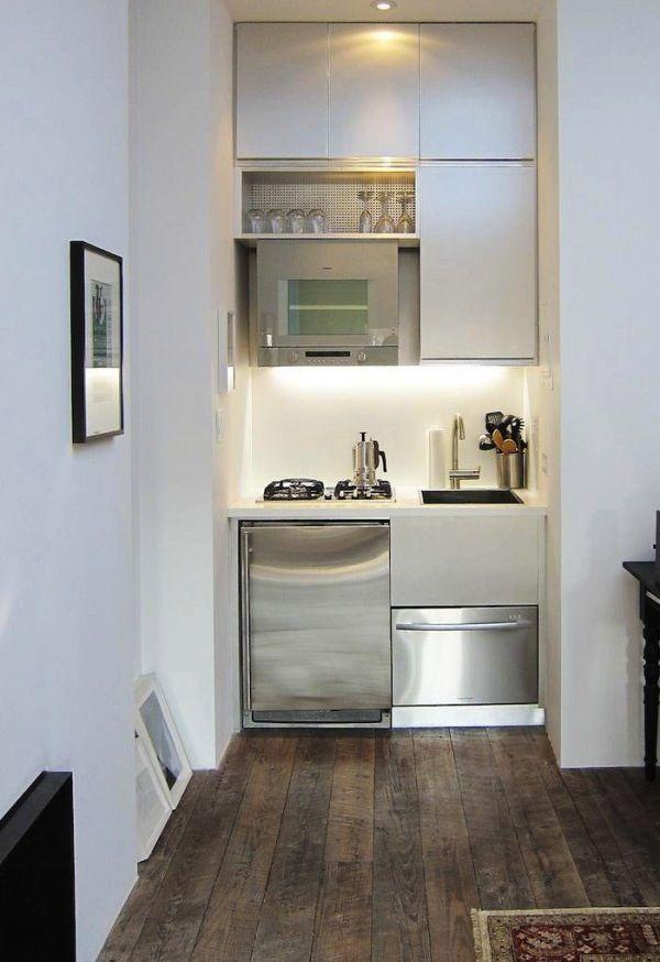 35 idées pour aménager une petite cuisine | Kitchens, Small spaces ...