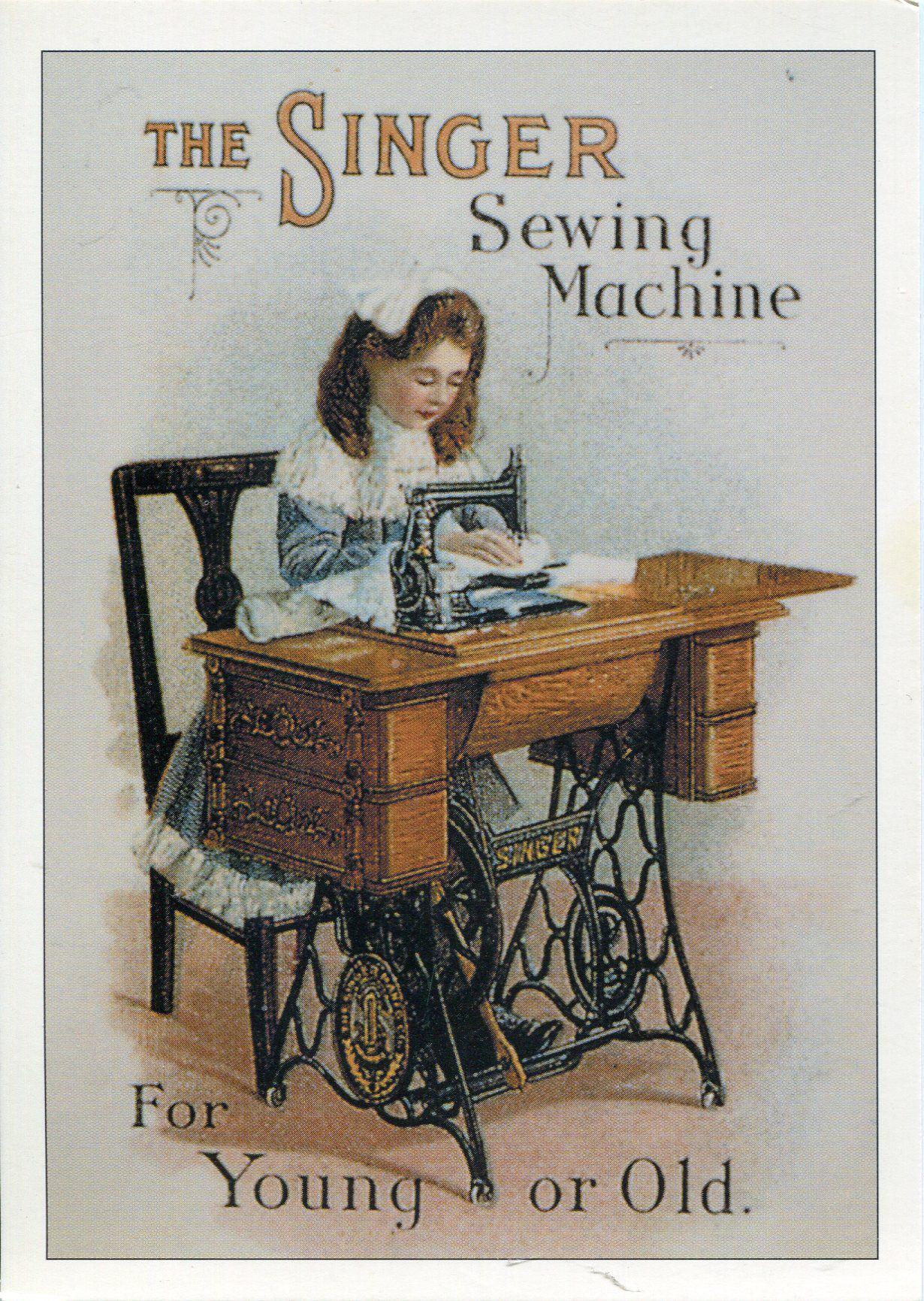 Vintage Sewing Machines, Old