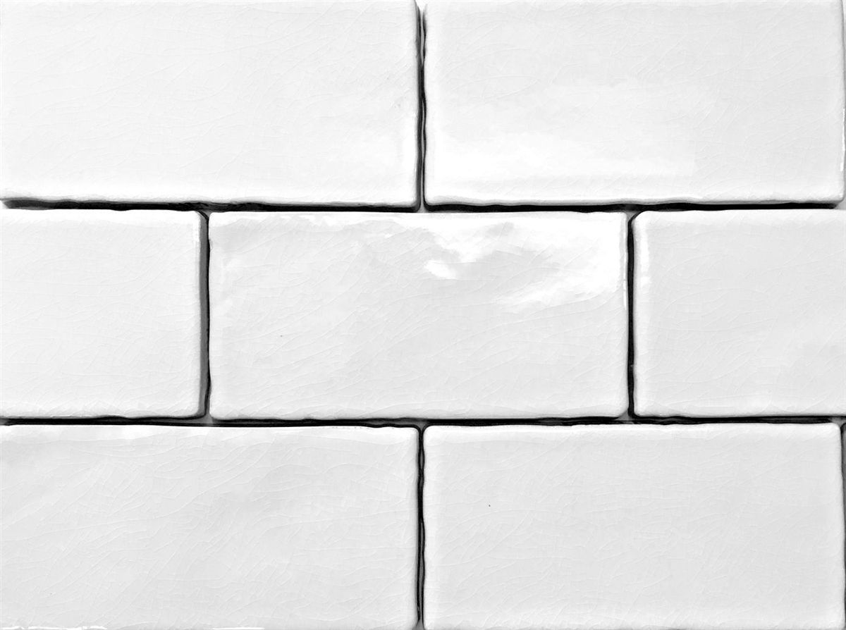 3x6 White Crackled Glaze Ceramic Tile Wall And Backsplash Subway Tile Backsplash Glazed Ceramic Tile Ceramic Subway Tile