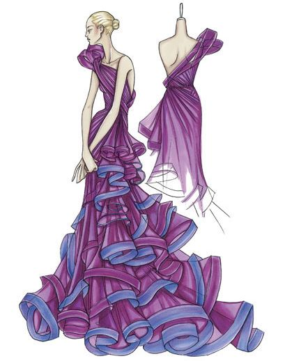 How To Fashion Design Sketch Fashion Designer Sketches