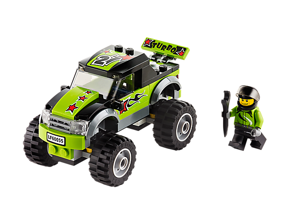 Jump Over The Biggest Obstacles In The Mighty Monster Truck Monster Trucks Lego City Lego