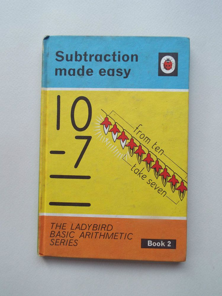 Vintage Ladybird Book Subtraction Made Easy Basic Arithmetic 2 1st Ed In Books Comics