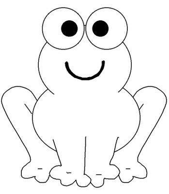 Para Patchcolagem Frog Coloring Pages Animal Coloring Pages