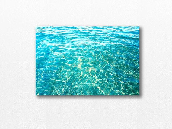 coastal canvas print abstract beach canvas by mylittlepixels, $70.00
