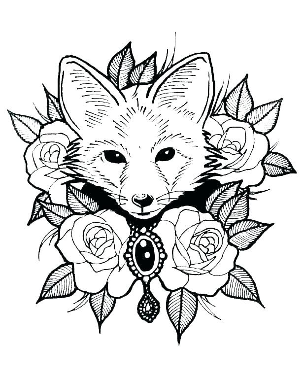 Forest Animals Coloring Pages Coloring Pages Printable Animals Realistic Forest Animal Colori Fox Coloring Page Zoo Animal Coloring Pages Animal Coloring Books