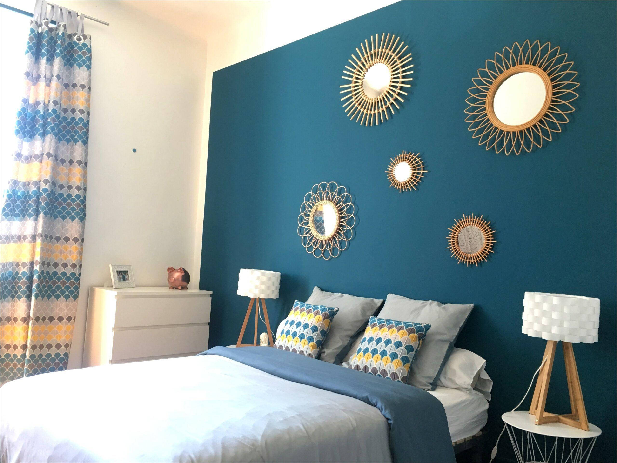 Deco Bleu Et Doree Chambre en 20  Deco chambre, Deco chambre