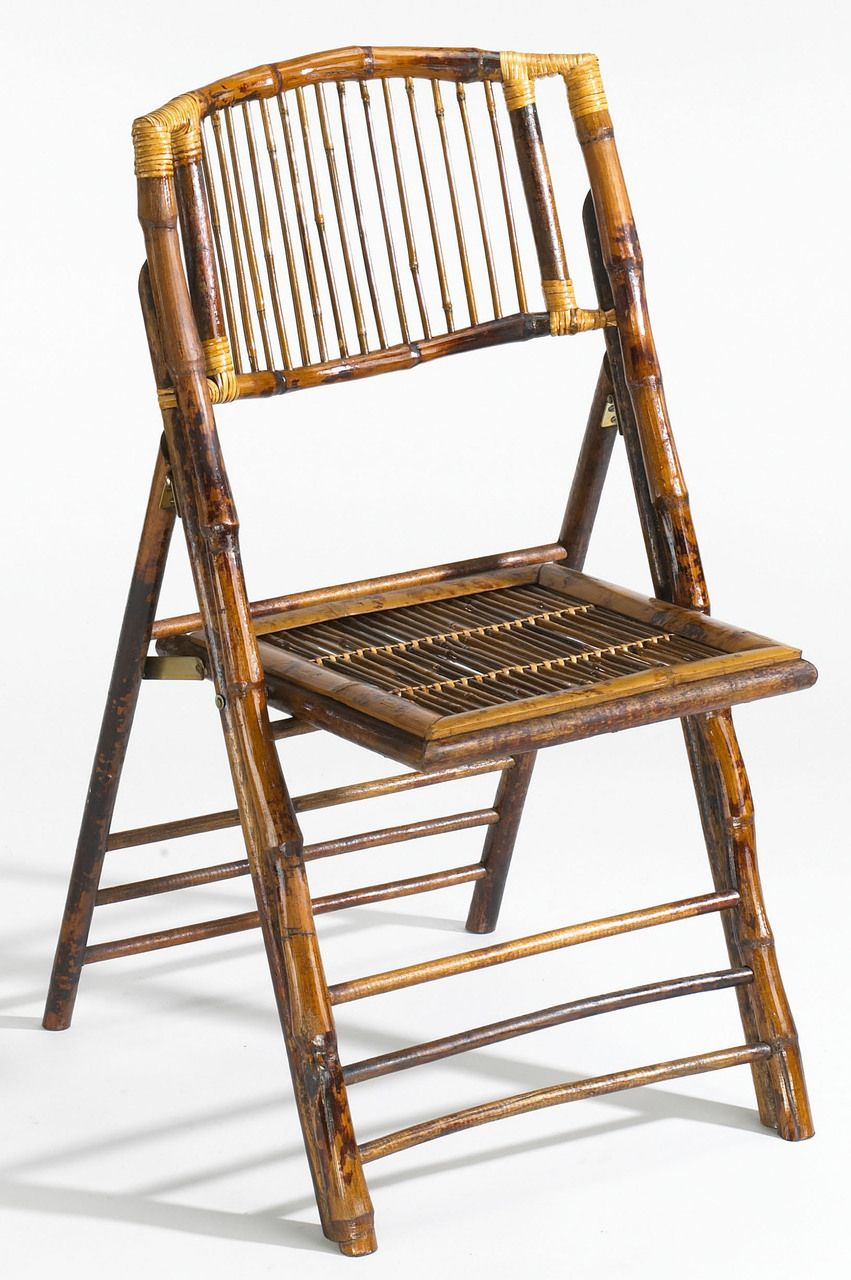 design chic bamboo folding chair set of 4 tortoise gloss