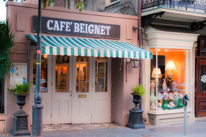 Cafe Beignet S Tiny Storefront Embeds Lots Of Charm Under