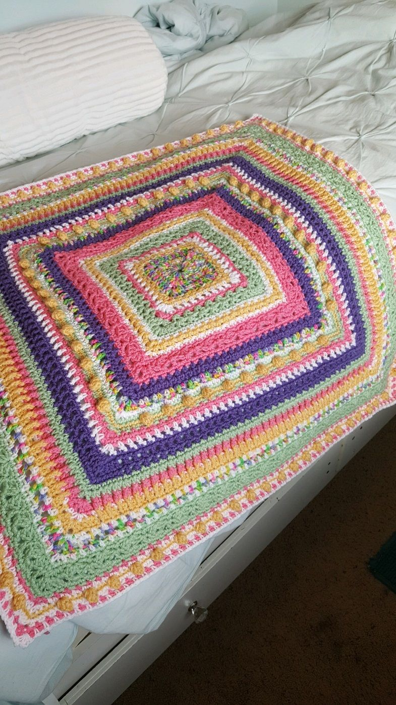 Faeries Sampler Baby Afghan Pattern (With images) Baby