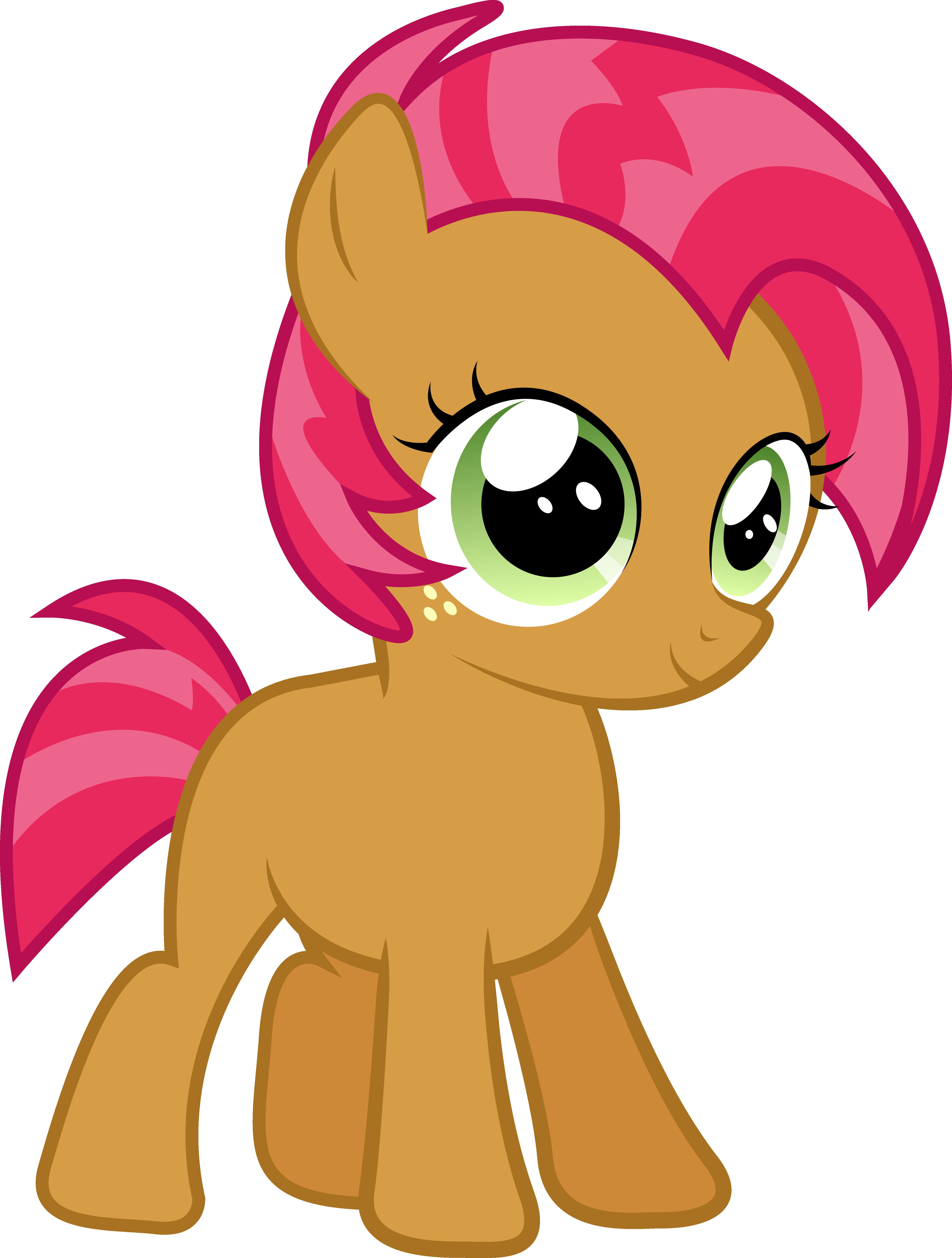 Babs Seed- Red Orange   CMC   Mlp pony, My little pony ...