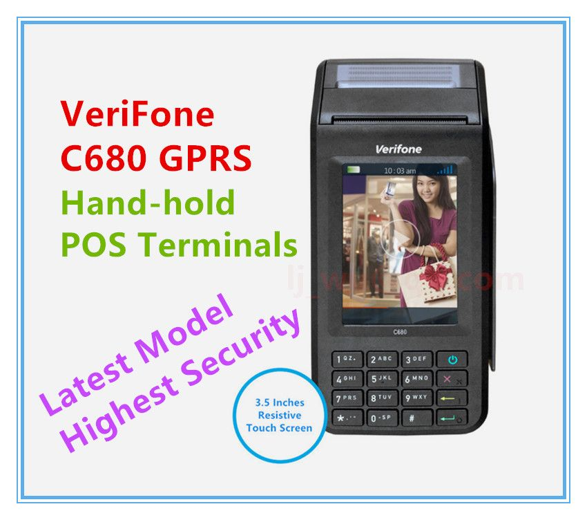 Brand New Verifone C680 Gprs Hand Hold Pos Terminals Latest Model Pos Terminals Hold On Pos