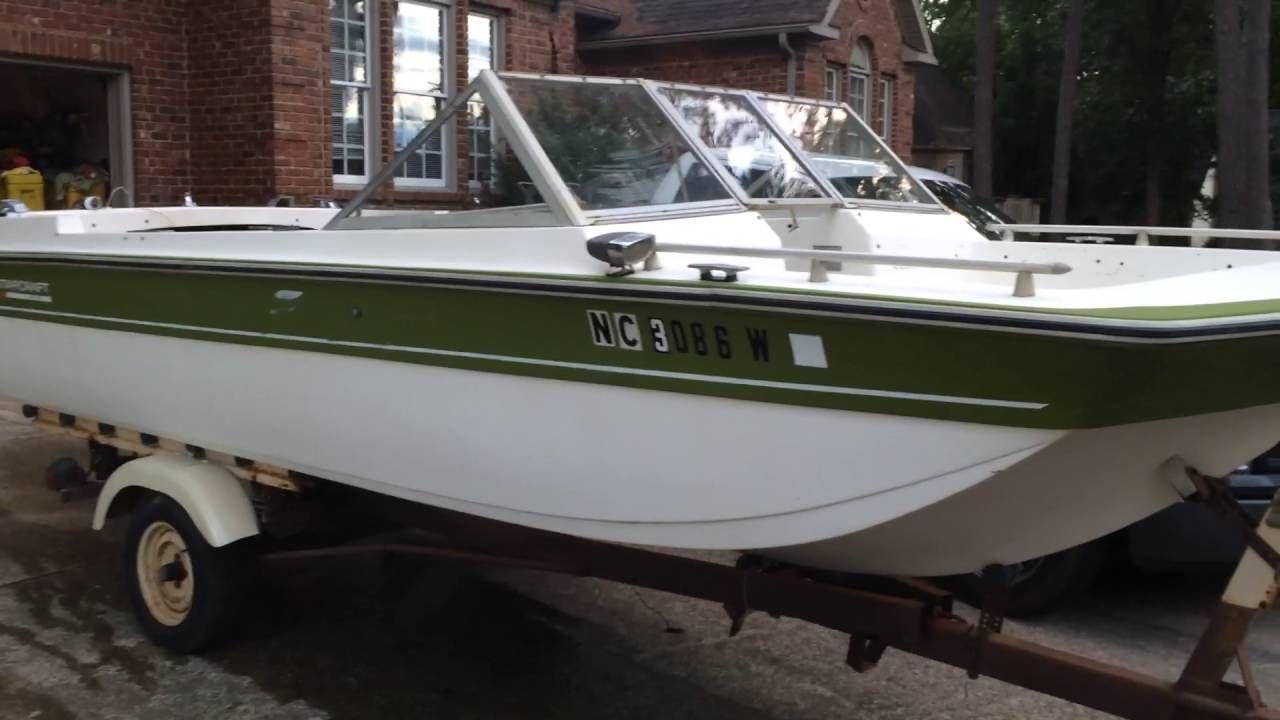 1973 Starcraft Capri Tri Hull Runabout Boat Classic Boats Boat Design