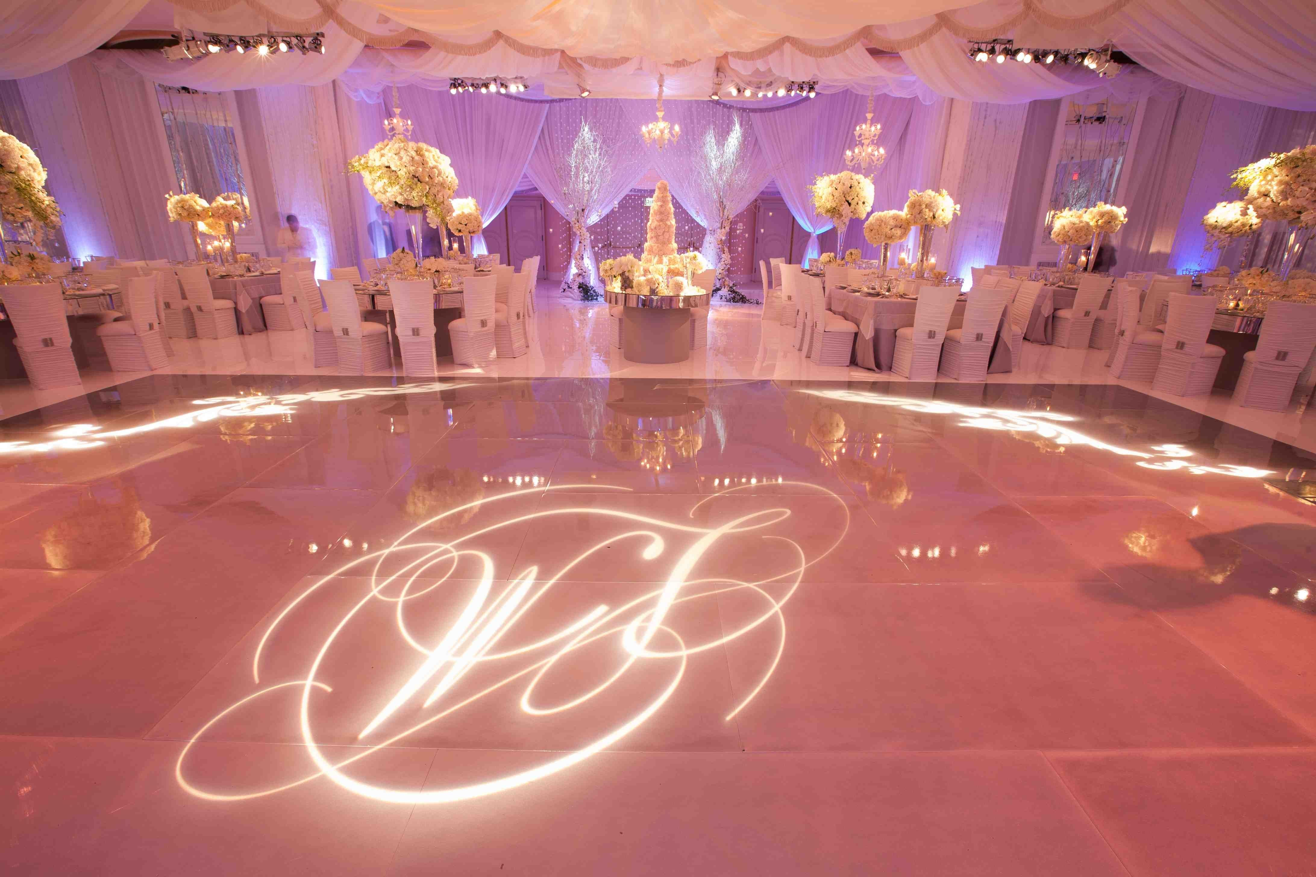 Monogram Wedding Decorations Ideas Inside Weddings With Regard To