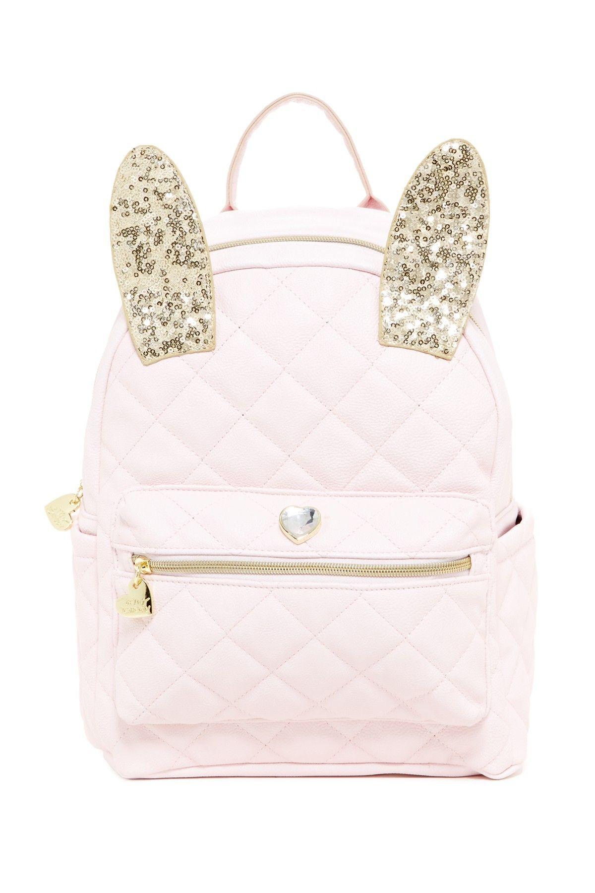 57d4e39b6f Betsey Johnson | Disco Bunny Backpack | Neat Stuff | Bags, Betsey ...
