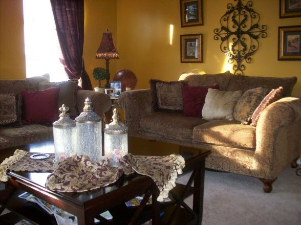Old World/Tuscan Living Room - Living Room Designs - Decorating ...