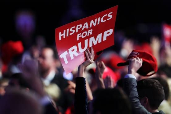Donald Trump�s Win Bucks Warnings From GOP  Democrats to Improve Hispanic Outreach - WSJ