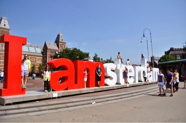 image result for i am amsterdam letters | type | i amsterdam