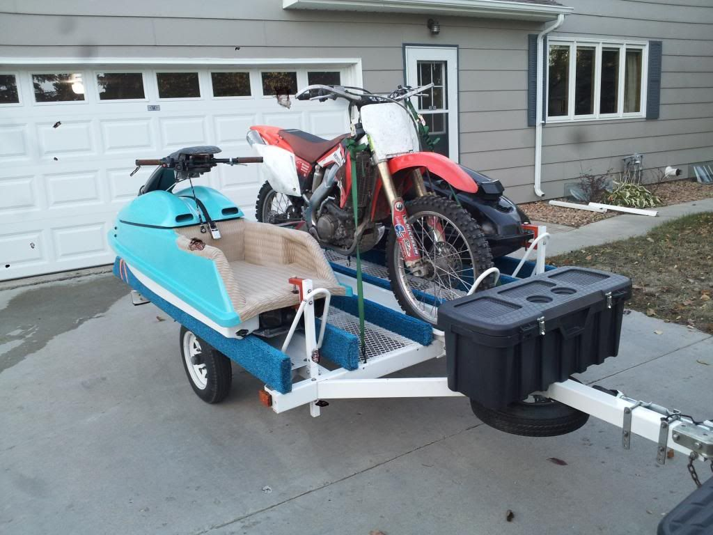 Jet Ski Dirt Bike Trailer Google Search Jet Ski Bike Trailer
